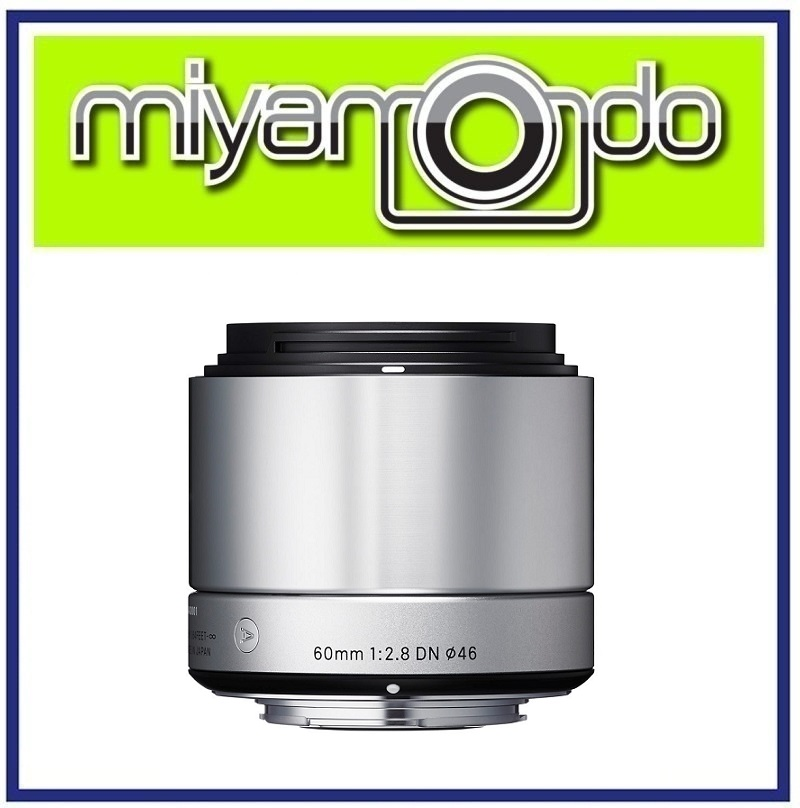 NEW Sigma 60mm f/2.8 DN Art Lens for Olympus MFT Cameras Silver