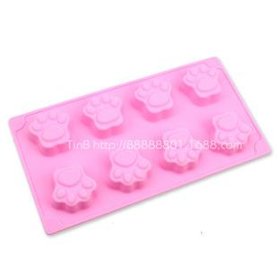 Silicone Cat Claw 8 in 1 Design Baking / Choc / Jelly / Soap Mold