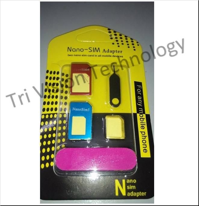 Sim Card Adapter 4 in 1 with Sandstick