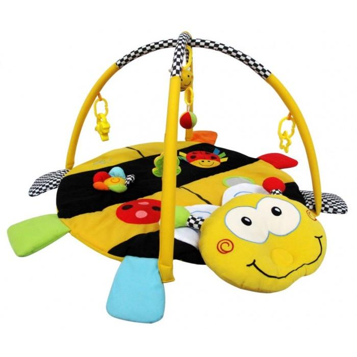Simple Dimple: Friendly Bee Activity Playgym With Pillow