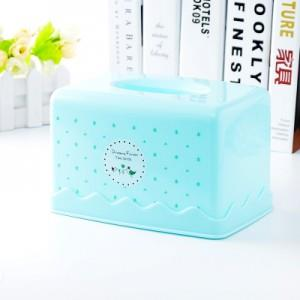 Simple Fresh Color Rectangular Tissue Box