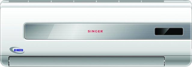 SINGER AC5121 (R410a)  DC Inverter Air-Conditioner (1.5 HP)