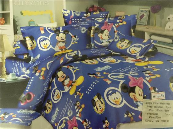 Single size fitted bedsheet (SC5)