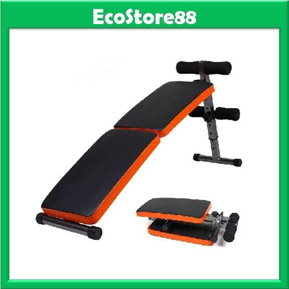 Sit Up Bench Foldable Gym Equipment Fast 6 Packs Abs