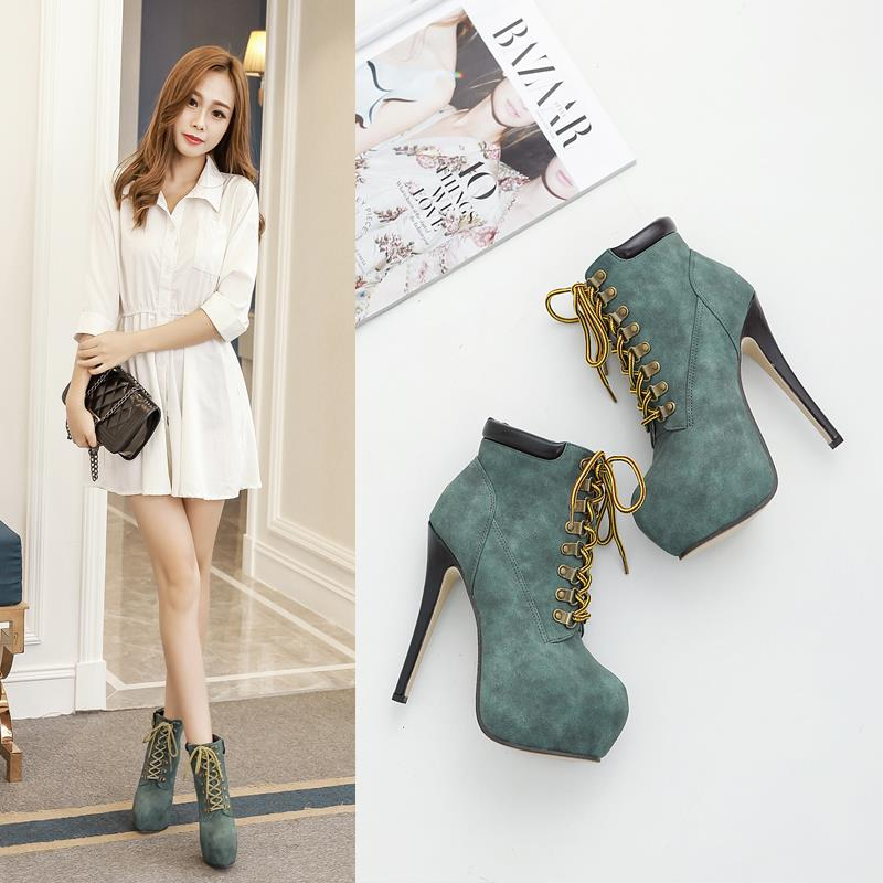 Size 34-40 ~ Korea 14.5CM Stylish Ladies High Heel