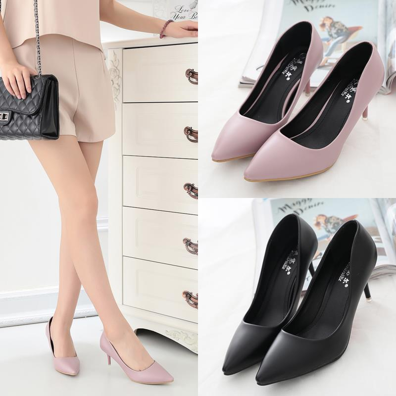 Size 35-39 ~ EZ Elegant Office Ladies 7CM Work Shoe 5