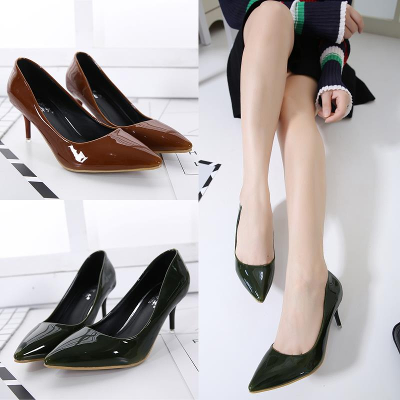 Size 35-39 ~ EZ Elegant Office Ladies 8CM Work Shoe 3