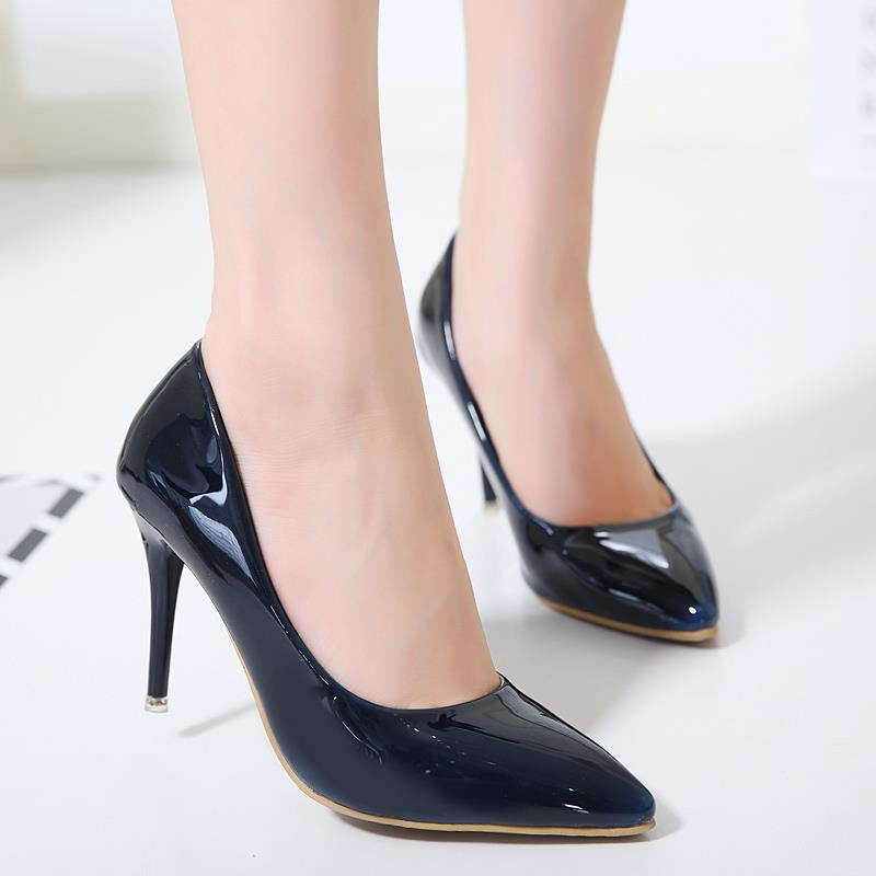 Size 35-39 ~ EZ Elegant Office Ladies 8CM Work Shoe