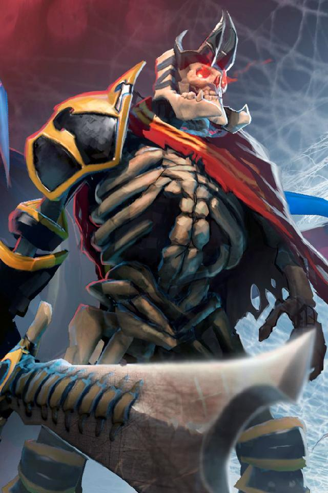 SKELETON KING: DOTA ACTION FIGURE DEMIHERO DOLL GIFT COLLECTION