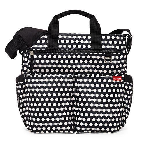 SKIP HOP DUO SIGNATURE DIAPER BAG 100% AUTHENTIC (Connected Dots)