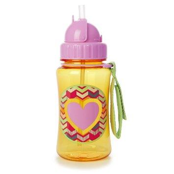 Skip Hop Forget Me Not Straw Bottle - Heart (100% Authentic)