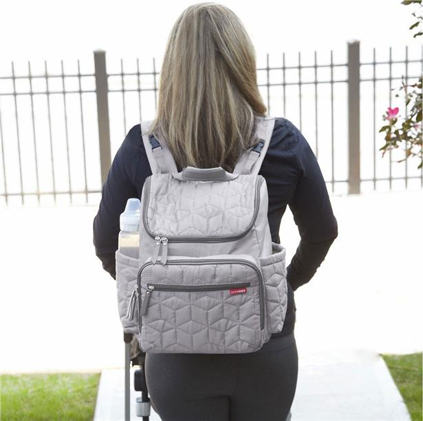 Skip Hop Forma Backpack Diaper Bag - Grey Authentic