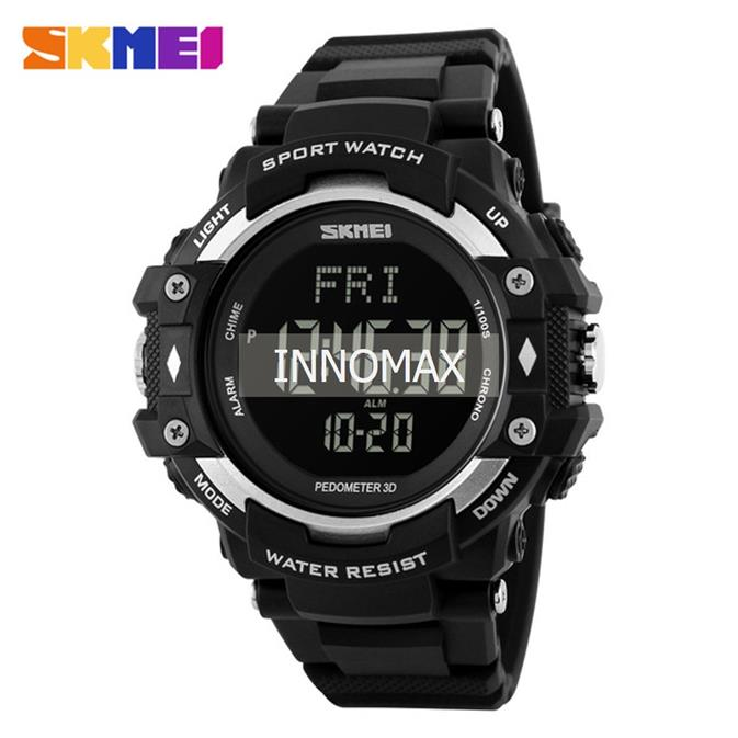 SKMEI 1180 Sport Watch - Heart Rate, Pedometer, Chronograph