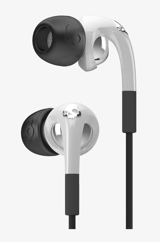 SKULLCANDY WIRED THE FIX EARSET (S2FXFM-072) WHITE/BLACK