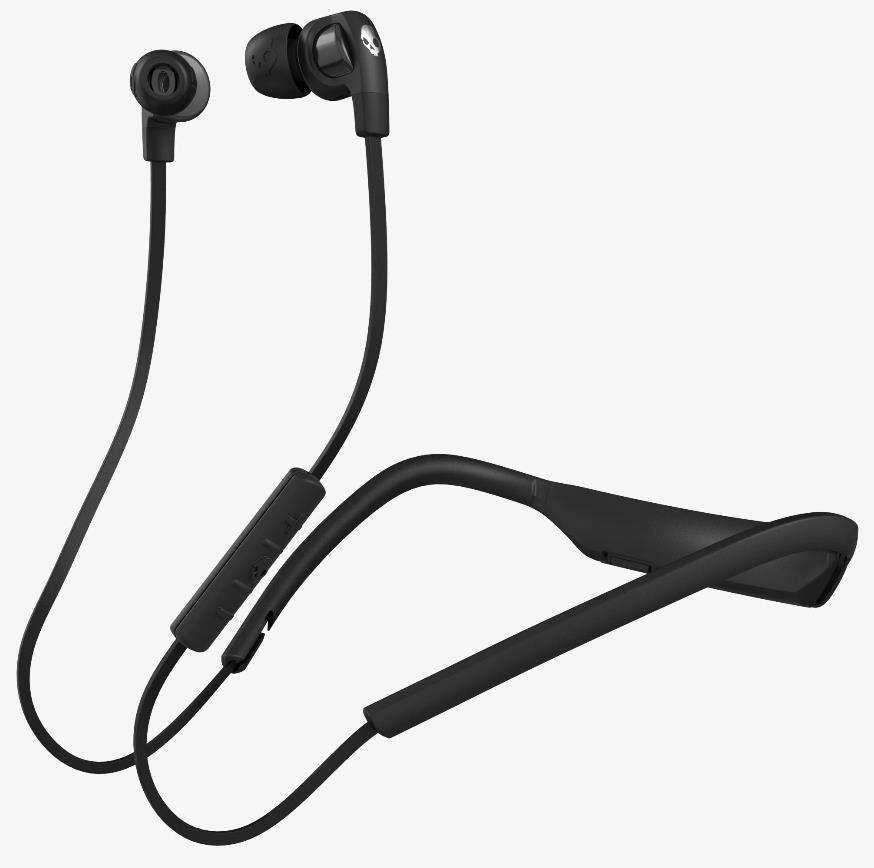 SKULLCANDY WIRELESS SMOKIN BUDS 2 BT HEADPHONE (BLK/BLK) S2PGHW-174