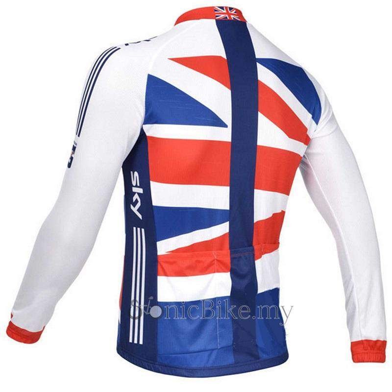 Sky Long Sleeve Upgrade Version Cycling Jersey / Cycling Wear - JS923