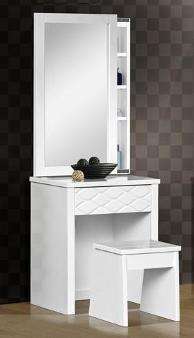 SL8229 WHT Dresser and Mirror