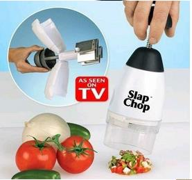 SLAP CHOP food chopper device grater vegetable garlic triturator