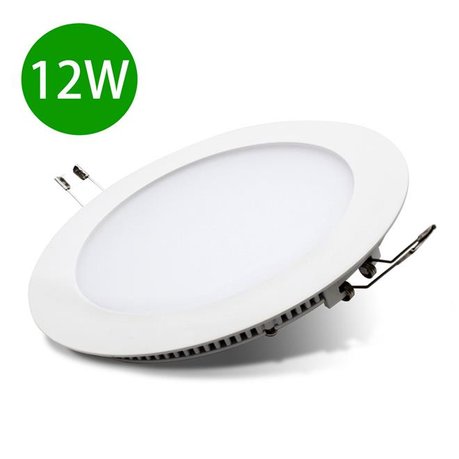 Slim LED Panel Light Downlight Ceiling Lights Lamp 12W