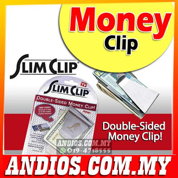 Slim Money Clip-Credit Card Cash Holder Wallet-As Seen On TV-Wholesale