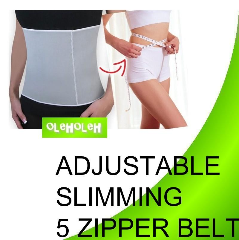 Slimming Waist Shaper Burn Fat Sauna Action WeightLoss Adjustable Belt
