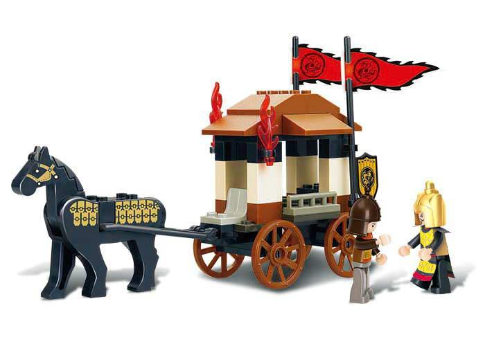 Sluban Three Kingdoms Carriage Lego Brick Compatible