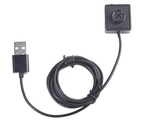 Small Button Camera With Motion Detect + 2M Cable (BC-03).
