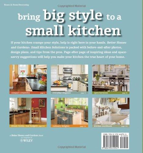 Small Kitchen Solutions (Better Homes and Gardens Home) Paperback