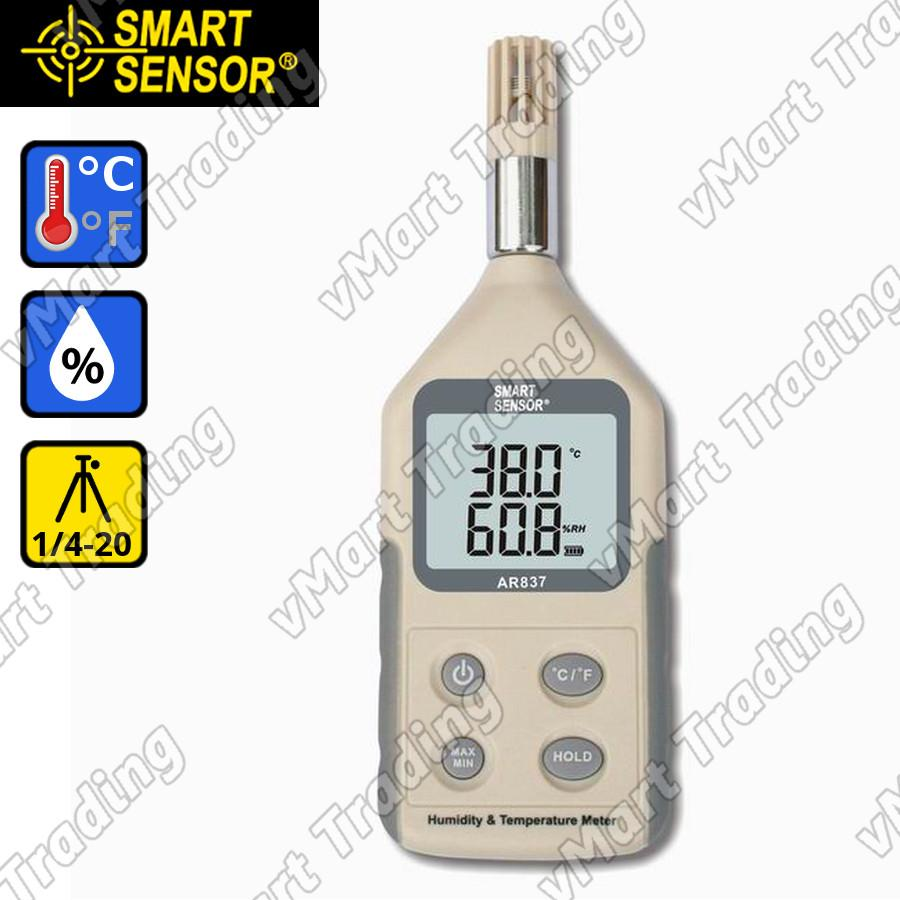 SmartSensor AR837 Professional Hygrometer + Thermometer