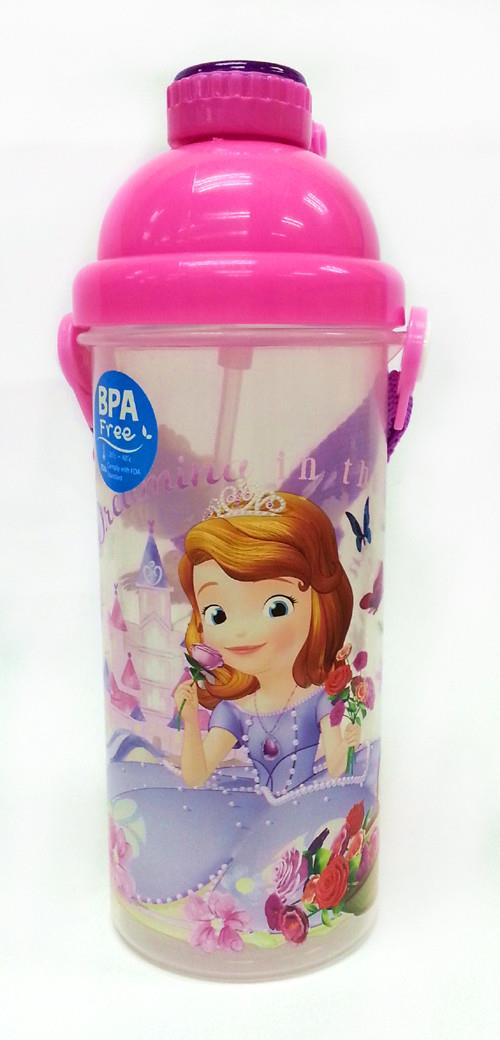 SOFIA THE FIRST 650ML WATER BOTTLE * BPA FREE