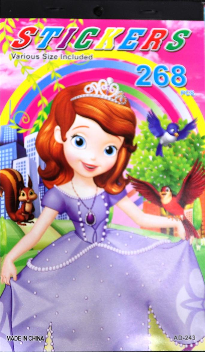 Sofia The First Sticker Book / Children Activity / Kid Gift (268)
