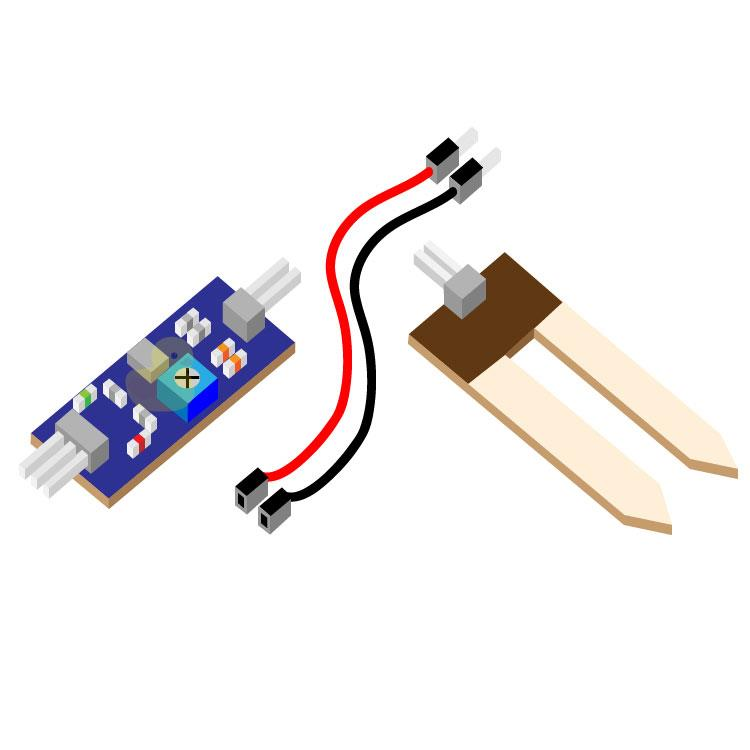 Soil Hygrometer Sensor For Arduino