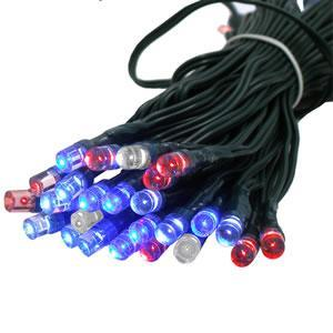 Solar Festive Light - 50 LED Multi Colour