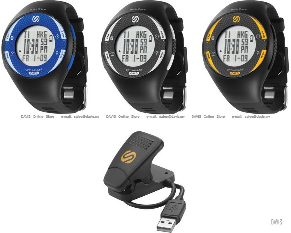 Watch with wrist hrm - Soleus Running Gps Pulse Ble Sg013 Wrist Hrm Bluetooth Variants
