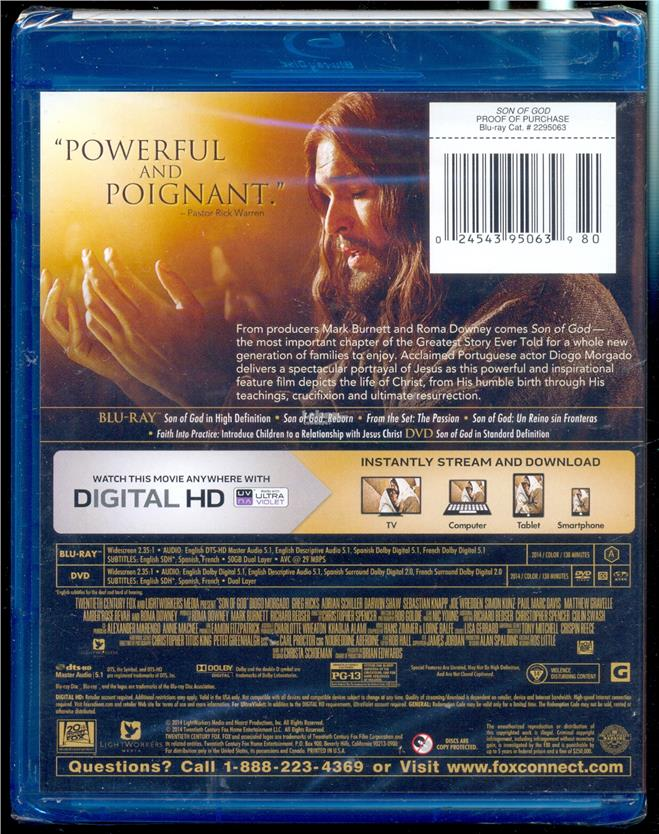 Son Of God - New Blu-Ray
