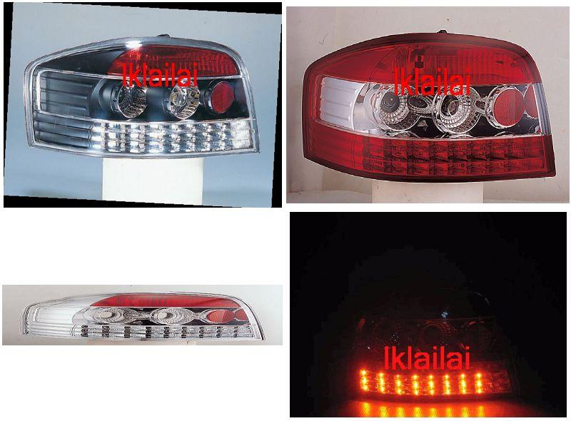 SONAR AUDI A3 3-Door  '03-'05 Crystal LED Tail Lamp 3-style to choose