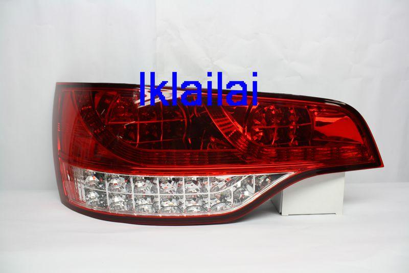 Sonar Audi Q7 '06-08 LED Tail Lamp+Corner LED Red/Clear