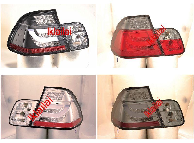 Sonar BMW E46 '98-01 4D LED Light Bar Tail Lamp