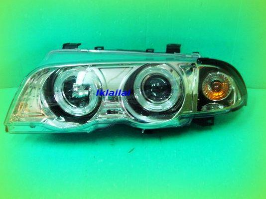 SONAR BMW E46 '99-'01 Projector Head Lamp with Rim + Motor