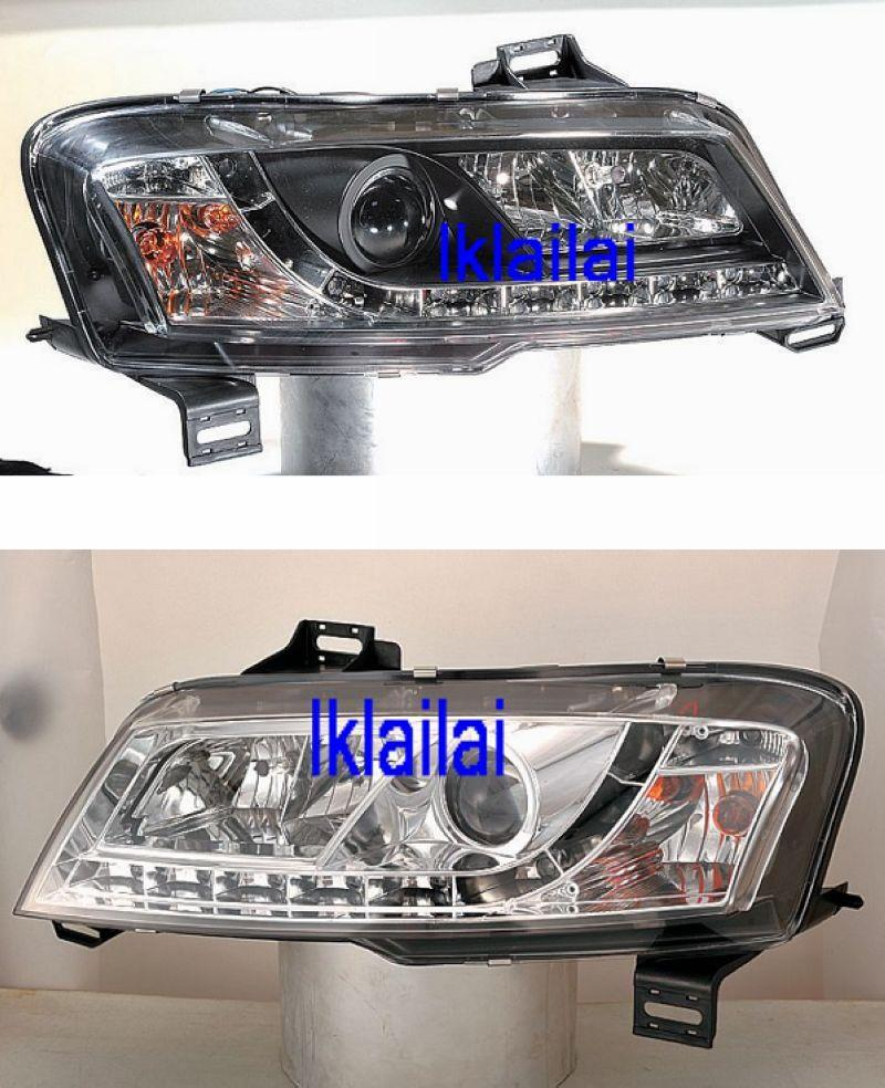 SONAR Fiat Stilo '01-06 3D Projector Head Lamp R8 DRL