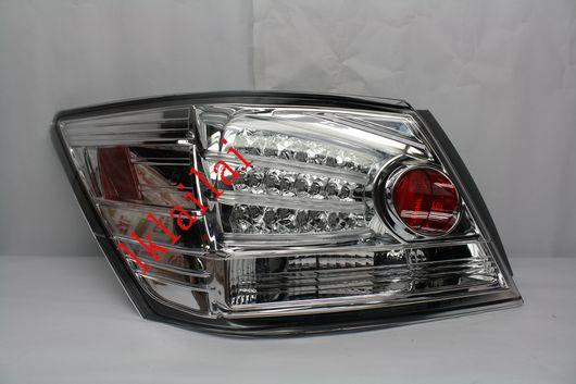 SONAR Honda Accord '08-10 LED Tail Lamp Chrome Housing [1-pair]