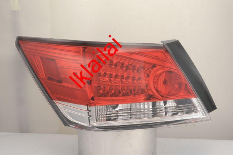 SONAR Honda Accord '08-10 LED Tail Lamp Red/Smoke [1-pair]