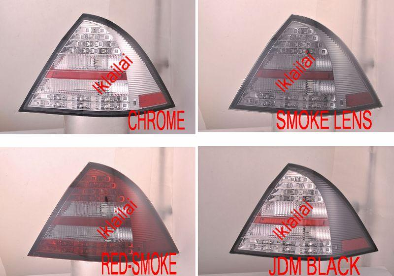 SONAR Mercedes Benz  C-Class  W203 '00-04 Tail Lamp Double LED