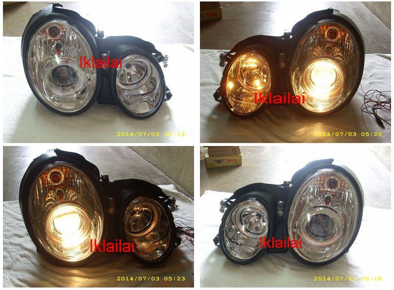 SONAR Mercedes Benz CLK W208 '98-02 Projector Head Lamp [with Motor]
