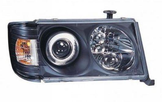 Sonar Mercedes Benz E Class W124 '93 Head Lamp Projector [Black]