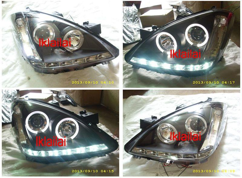 SONAR Toyota Avanza '07 Projector Head Lamp LED Ring DRL R8
