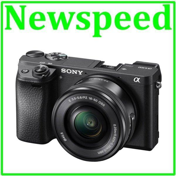 New Sony Alpha A6300 + 16-50mm Lens Kit (Sony MSIA)