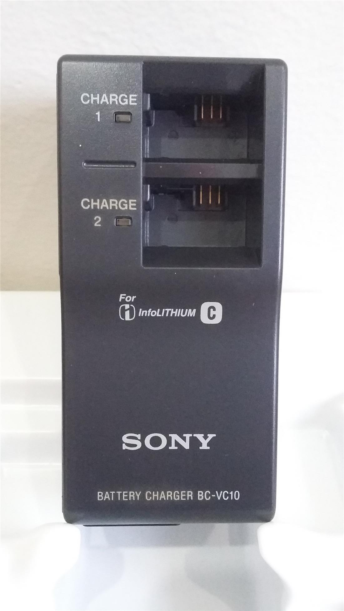 Sony Battery charger BC-VC10