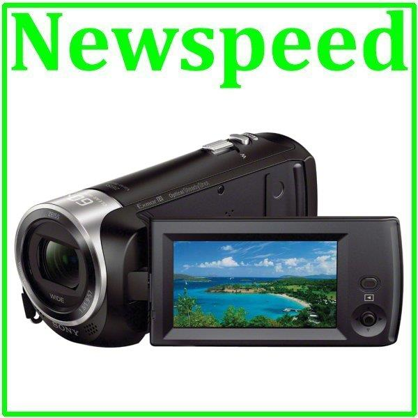 Sony Handycam HDR-CX405 HD Video Camcorder 30X Optical + 8GB Card
