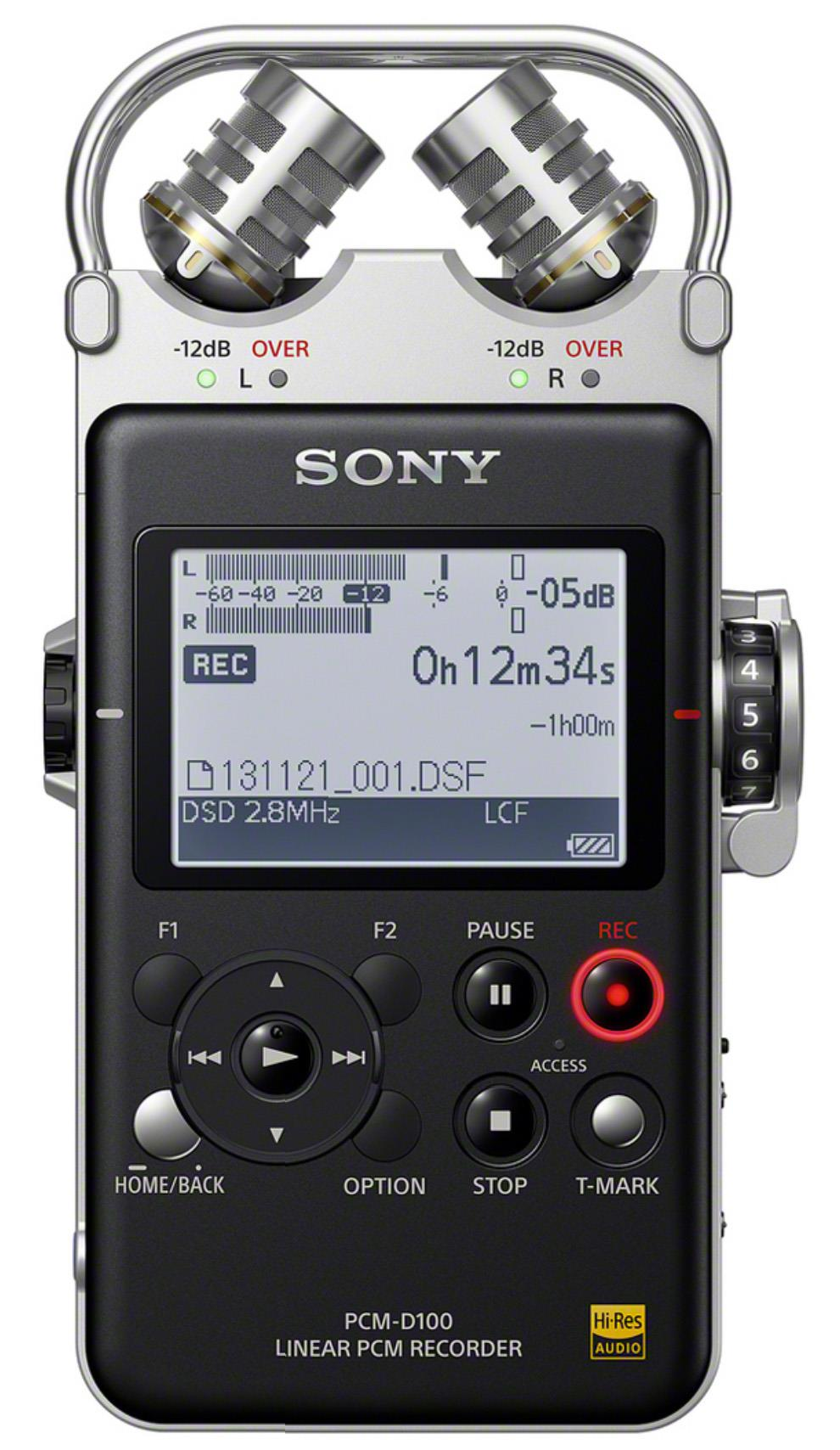 Sony PCM-D100 Linear PCM Recorder